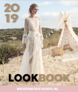 Korte Bruidsjurken 2019.Inspiratie Lookbook Bruidsmode 2019 Van Os Trouwjurken De